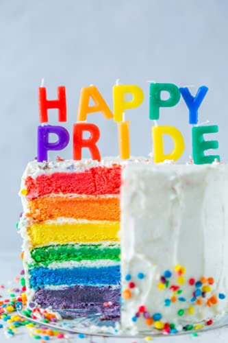 Happy Pride Notebook/Journal 150 Lined Pages: Journal, Diary, or Notebook for Office, School, Poetry, Bullet Journals, Etc.