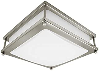 MingBright LED Ceiling Light 20W , 14-Inch Square Flush Mount Fixture, Dimmable Ceiling Lamps for Hallway, Bathroom or Kit...