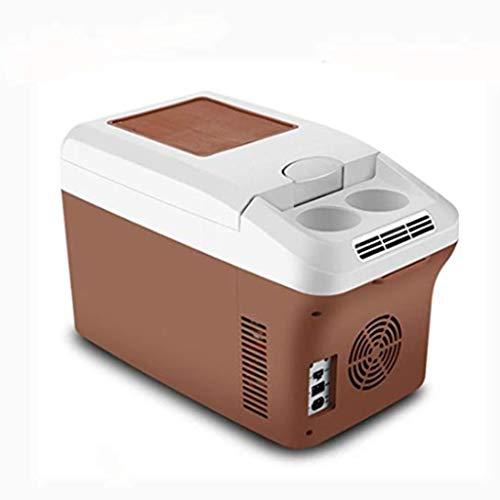 WLAY Koelbox elektrisch voor het trekken, warmhoudbox groot 15 L, koeltas voor auto en stopcontact, 12 V 220 V, 30 cm