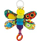 LAMAZE Freddie The Firefly - Clip on Pram & Pushchair Newborn Baby Toy, Sensory Toy, Christmas Gift for Babies Boys & Girls From 0 - 24 Months