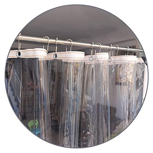LIANGLIANG Lona Transparente, Claro Lona Impermeable con Ojales Reforzados, Exterior Material de PVC Grueso Toldo para Cortina Cubierta Vegetal Patio, Parcela de 30cm (Size : 3x4m)