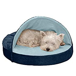 small dog cave bed