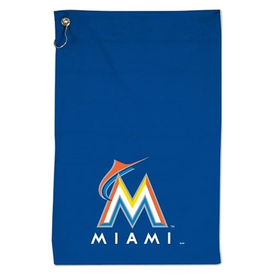 である従来のアーチWinCraft Miami Marlinsスポーツタオル