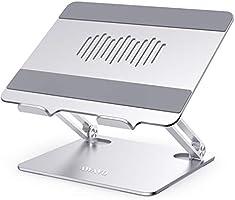 AWAVO Support pour Ordinateur Portable, Support Pc Portable Réglable en Aluminium, Compatible avec Les Ordinateurs...