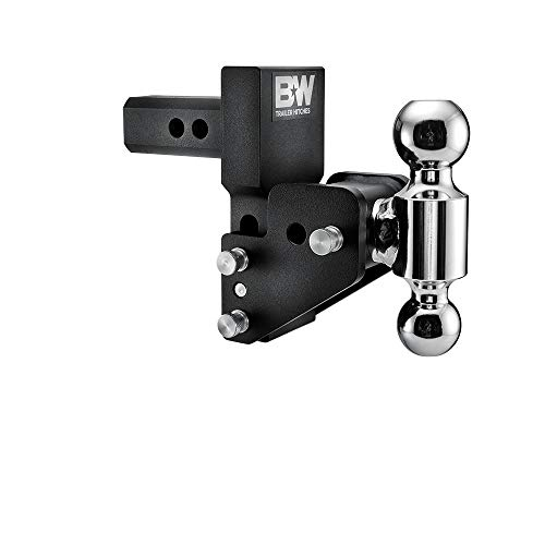 """B&W Trailer Hitches B&W MultiPro Tow & Stow - Fits 2"""" Receiver, Dual Ball (2"""" x 2-5/16""""), 2.5"""" Drop, 10,000 GTW"""