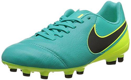 Nike Unisex-Kinder Tiempo Legend Vi Fg Fußballschuhe, Grün (Clear Jade/Black/vert Volt), EU