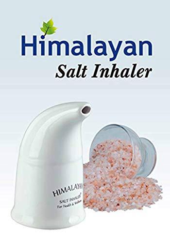 Original Himalayan Salt Pipe Ceramic 100% Pure Himalayan Salt, Asthma Inhaler