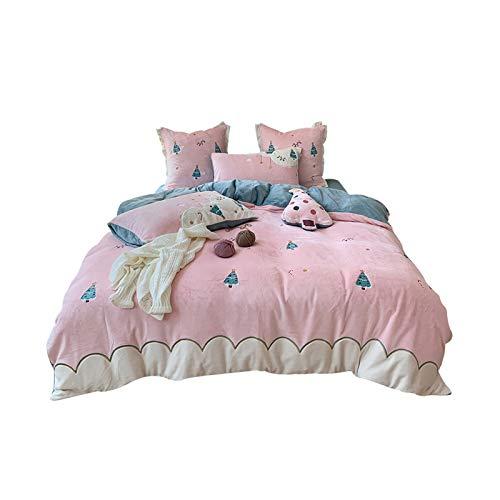 NAFE Super Soft Microfaser Kinder-Bed-In-A-Bag Bettwäsche-Set - Vier-teiliges...