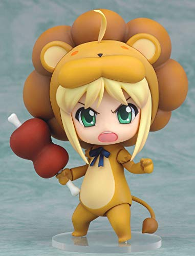 Liiokiy Figura de acción Q Versión Nendoroide Cara Intercambiable Movible Figura Fato/Stay Night Lion Sabre Anime Figura Collectable Figura Decoración Arte Game Juegos Anime Hecho A Mano Modelo Jugu