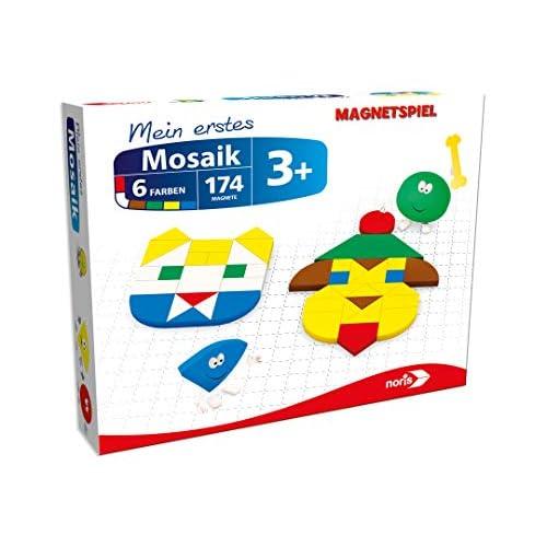 noris 606041772 Magneticus - Il Mio Primo Mosaico