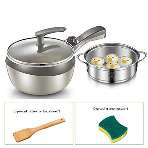 Elektrischer Skillet Cooki Kleiner Wok Fried Suppentopf Kleiner Reis Stein Non-Stick Liner Multi-Funktions-Haushalt Küche kyman