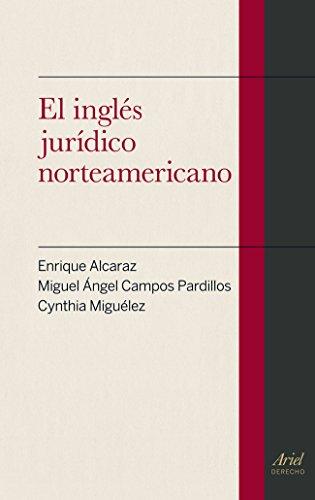 El inglés jurídico norteamericano Ariel Derecho