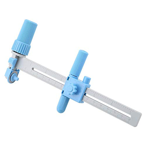 Verstelbare kompas Cirkel Snijden 20-160mm voor Papier Karton Rubber Vinyl Lederen DIY Model Tool