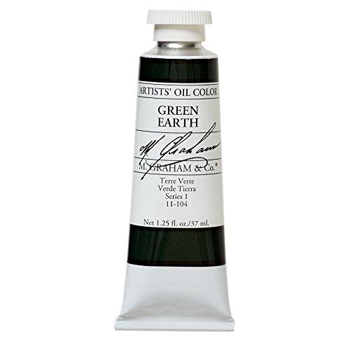 M. Graham & Co. Oil Paint, Green Earth