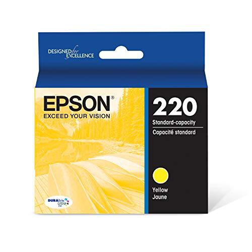 Epson T220420 DURABrite Ultra Yellow Standard Capacity Cartridge Ink (WF-2760, WF-2750, WF-2660, WF-2650, WF-2630, XP-424, XP-420, XP-320)