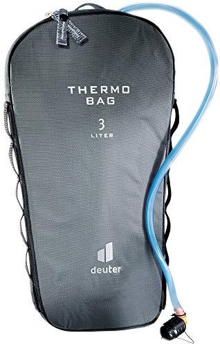 Deuter Streamer Thermo Bag 3.0 L Accesorios para Bolsa de hidratación, Unisex Adulto, Granito, Talla única