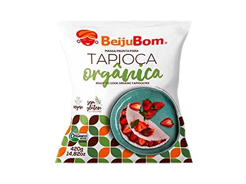 Tapioca Orgânica Sem Glúten Beijubom 420g