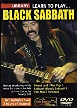 MUSIC SALES LTD - Guitare-m??thodes - Black Sabbath - Learn To Play Black Sabbath