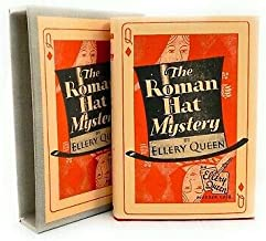 The Roman Hat Mystery ELLERY QUEEN First Renewed Edition Slip/cover