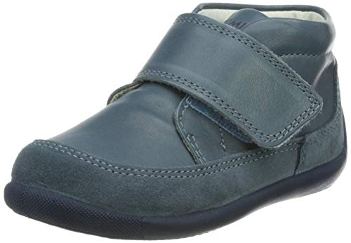 PRIMIGI PSU 73690 First Walker Shoe, Jeans/Azzurro, 23 EU