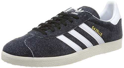 adidas Gazelle, Zapatillas de Gimnasia Hombre, Negro (Core Black/FTWR White/Off White Core Black/FTWR White/Off White), 42 EU
