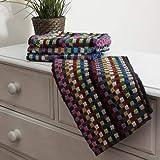 Musbury Multi Random Stripe Tea Towel Pack of 6