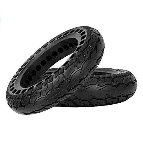 HZWDD 12 1/2x1 1/4 Neumáticos sólidos en Forma de Panal, Resistentes al Desgaste, Antideslizantes, amortiguadores, Resistentes a pinchazos y sin Mantenimiento, 2 Piezas