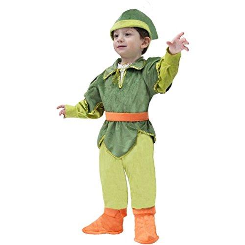 Disfraz de carnaval para primeros pasos  Peter Pan, talla 19/24 meses  68 cm