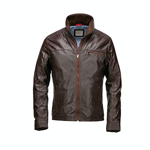 Bugatti Lederjacke 5933-610 (Brown/Rust, 52)