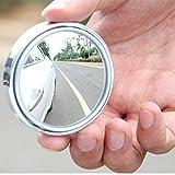 Rmeet Auto Laterale Specchio,2 Pack Specchietti Ciechi Rotabili di 360°Convesso Retroviso...