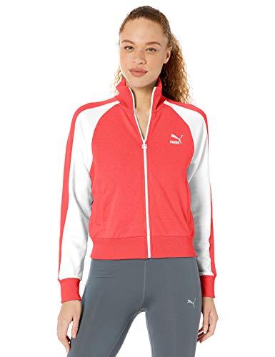 PUMA Women's Classics T7 Track Jacket, Nrgy Rose, M