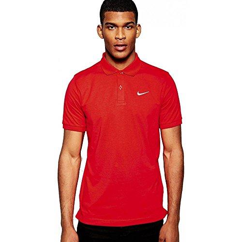 NIKE Matchup Polo-JSY - Polo para Hombre, Color Rojo/Blanco,...