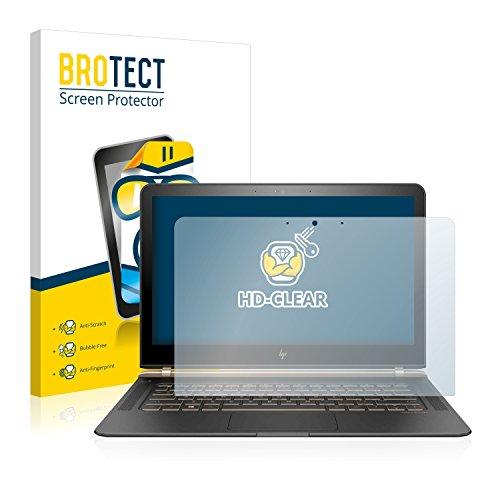brotect Pellicola Protettiva Compatibile con HP Spectre 13-v130ng Pellicola Trasparente Anti-Impronte