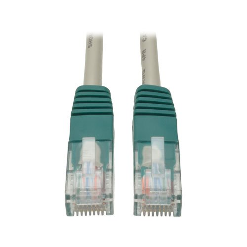 Tripp Lite Cat5e 350MHz Molded Cross-over Patch Cable (RJ45 M/M) - Gray, 7-ft.(N010-007-GY)