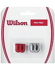 Wilson Pro Feel Logo-trillingsdemper, voor tennisrackets, verpakking van 2