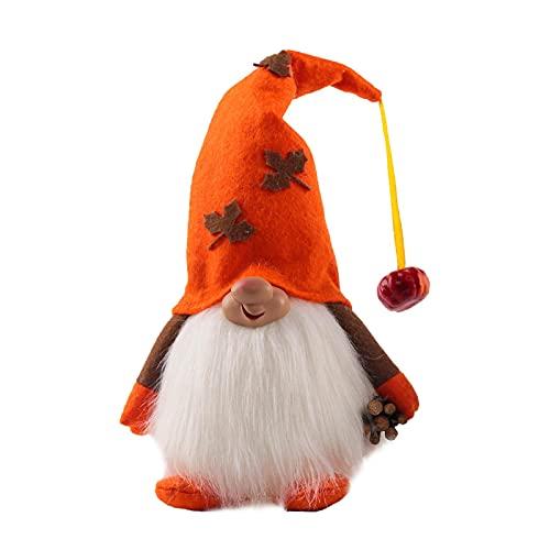 Light Up Gnome Doll Scandinavia Elf Decoración De Regalo De Acción De Gracias Muñeca Gnome
