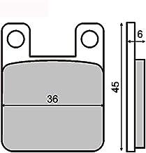 pastillas de freno Organica trasero compatible con DERBI Senda X-Treme Sm 4T 125 2004-2004