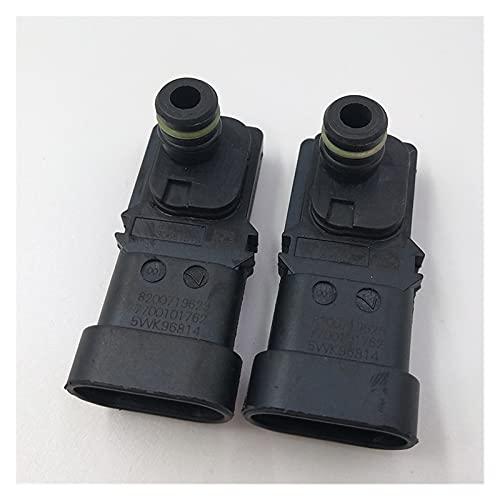 YLAN Store 2 PCS 8200719629 Mapa Sensor de presión Fit para Renault Clio Kangoo Laguna Megane Scenic Espace Nissan Vauxhall 8200105165 7700101762