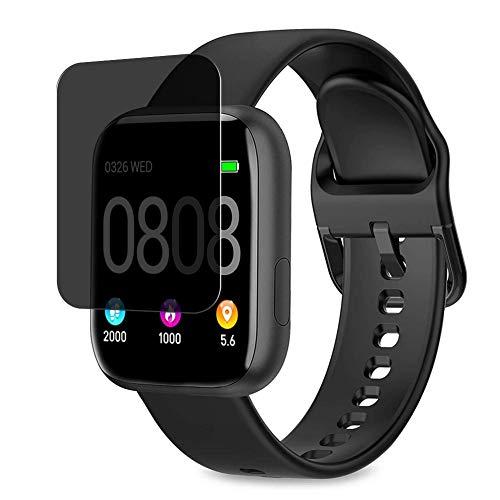 Vaxson Protector de Pantalla de Privacidad, compatible con WWDOLL BANLVS BANLVS AIMIUVEI P4 P6 1.4' smartwatch Smart Watch [no vidrio templado] TPU Película Protectora Anti Espía
