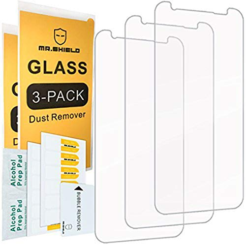"""[3-PACK]-Mr.Shield Designed For Samsung""""GalaxyS8Active"""" [Not Fit For Galaxy S8 Model] [Tempered Glass] Screen Protector with Lifetime Replacement"""