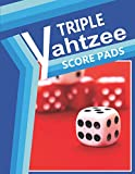 Triple Yahtzee Score Pads: Triple Score Sheet Book for Record Keeping , 120 Pages 8.5x11 Inch