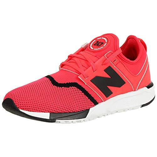 New Balance 247 Herren Sneaker Schwarz, Rot, 40.5 EU