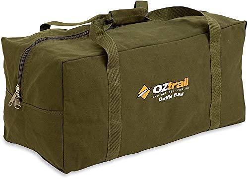 OZtrail Sac de Sport Large Toile BPC-DUFL-D Canvas Duffle Bag Large 80x35x35cm