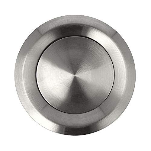 Abluftventil Zuluftventil Edelstahl Tellerventil matt gebürstet verschiedene Größen (120mm)
