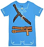 Womens Breath of The Wild Zelda Link Cosplay Tunic X-Large Blue