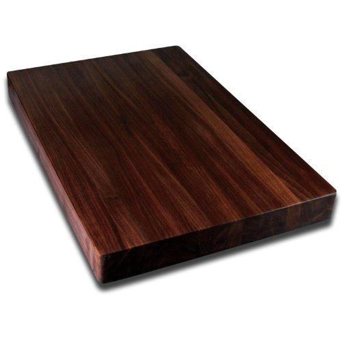"""Kobi Blocks Walnut Edge Grain Butcher Block Wood Cutting Board 20"""" x 30"""" x 1"""""""
