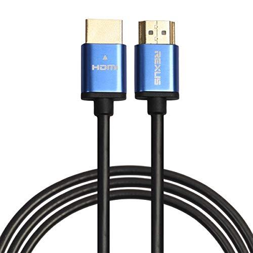 ILS - 1,8 m HDMI 1.4 versie 1080P behuizing van aluminiumlegering kop lijn kabel HDMI stekker op HDMI stekker kabel video audio aansluiting