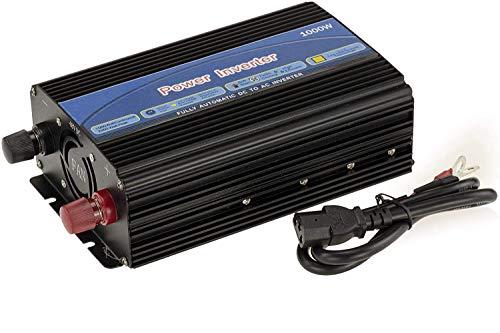 KALEA-INFORMATIQUE. Inversor Convertidor Corriente. Voltaje Entrada: 48V, tensión de Salida 220 240V. Potencia de Salida: 1000 Watt (2000W puntual).