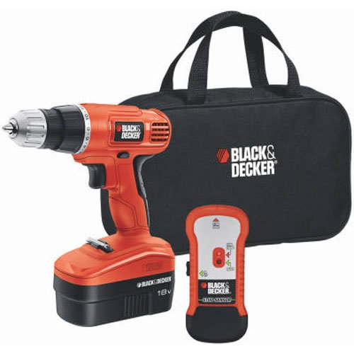 BLACK+DECKER 18V Cordless Drill/Driver Variable Speed (GCO18SFB)