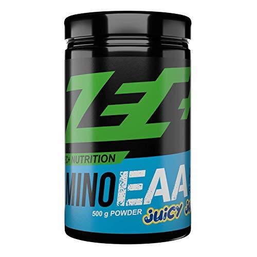 Zec+ Nutrition Amino EAA Pulver – Aminosäuren Pulver mit EAAs & BCAAs - Juicy Juice 500 g